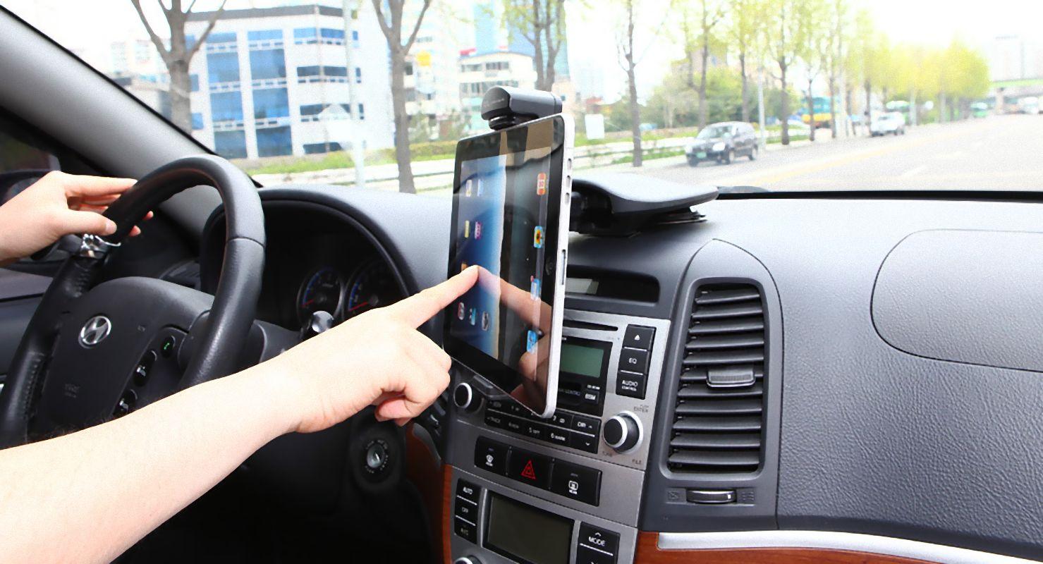 Exogear Exomount Universal Tablet Dash Car Mount New 07